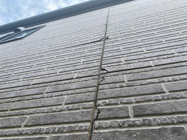 東京都品川区 I様邸 外壁塗装 無料現場調査 写真付き外壁の劣化症状 (18)
