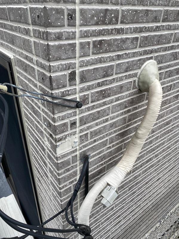 東京都品川区 I様邸 外壁塗装 劣化補修 ひび割れ(クラック) シーリング (8)