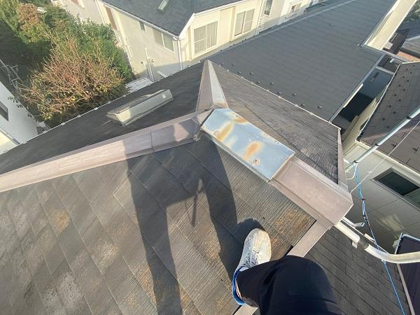 東京都杉並区 N様邸 屋根塗装・外壁塗装 施工前の状態① 屋根の劣化症状 (9)