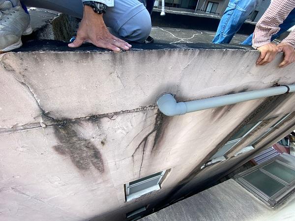 東京都目黒区 T様邸 防水工事 屋上 防水工事とは何か 施工前 現場調査 (5)