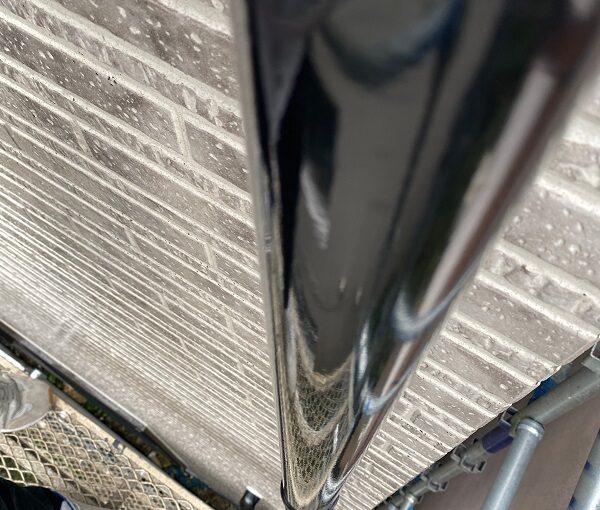 東京都品川区 I様邸 外壁塗装 ベランダ手すりの塗装 雨樋塗装 (5)