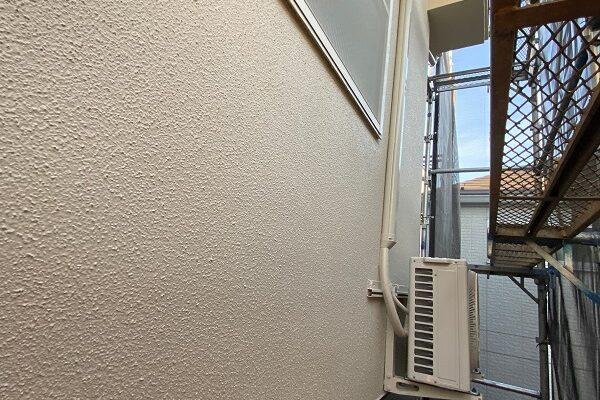東京都杉並区 N様邸 屋根塗装・外壁塗装 モルタル外壁の塗装 工程 (3)