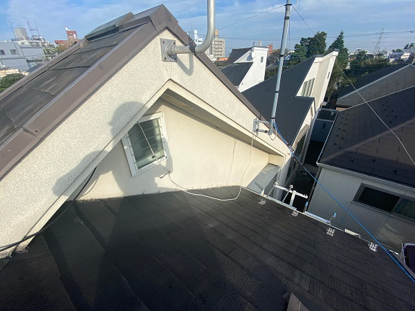 東京都杉並区 N様邸 屋根塗装・外壁塗装 施工前の状態② 外壁、付帯部の劣化症状 (3)