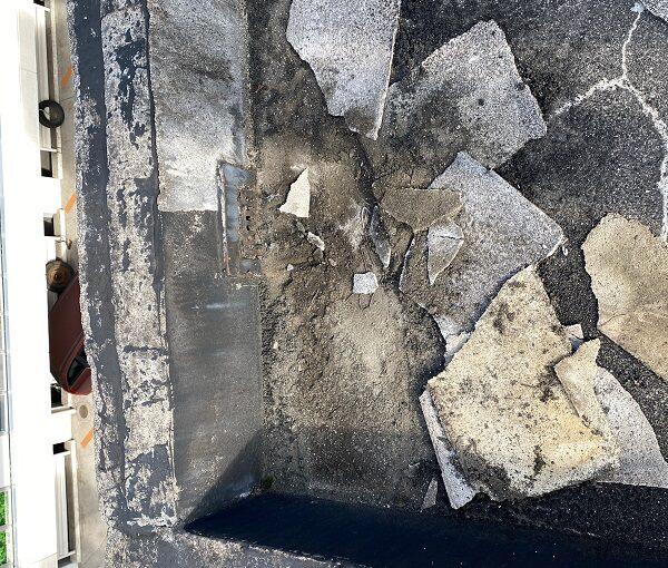 東京都目黒区 T様邸 防水工事 屋上 防水工事とは何か 施工前 現場調査 (4)