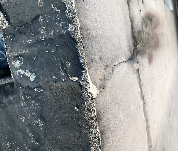 東京都目黒区 T様邸 防水工事 屋上 防水工事とは何か 施工前 現場調査 (7)
