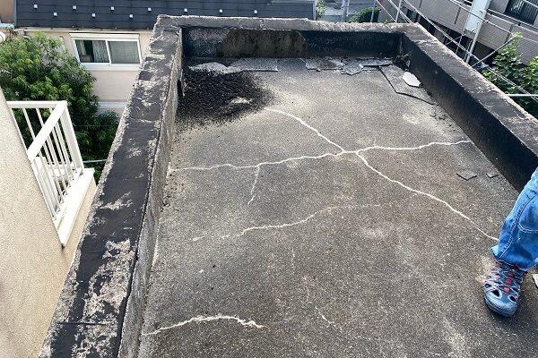 東京都目黒区 T様邸 防水工事 屋上 防水工事とは何か 施工前 現場調査 (6)