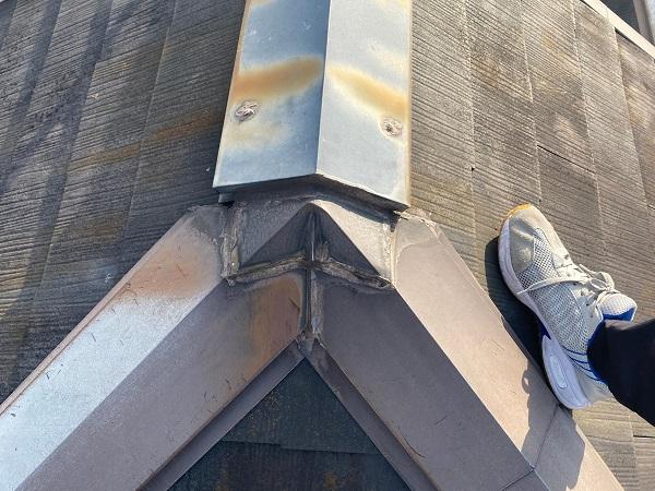 東京都杉並区 N様邸 屋根塗装・外壁塗装 施工前の状態① 屋根の劣化症状 (4)