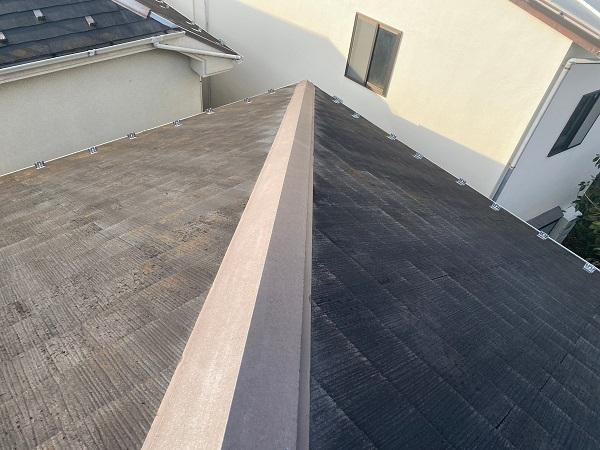 東京都杉並区 N様邸 屋根塗装・外壁塗装 施工前の状態① 屋根の劣化症状 (2)