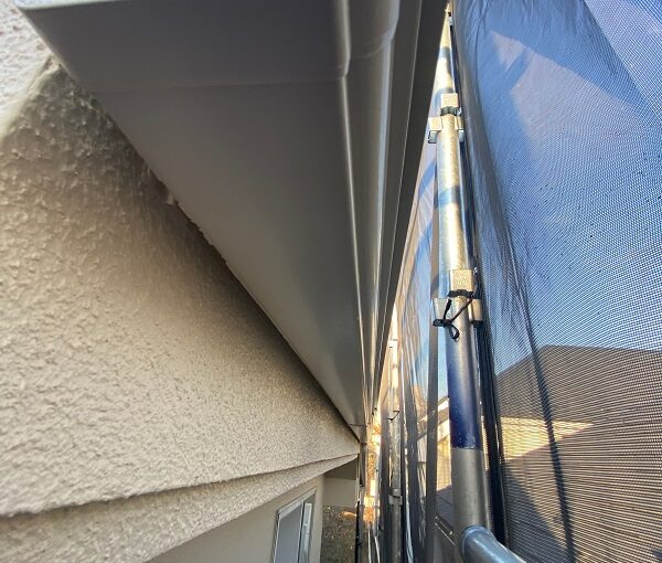 東京都杉並区 N様邸 屋根塗装・外壁塗装・付帯部塗装 雨樋、エクステリアライトの塗装 完工 (4)