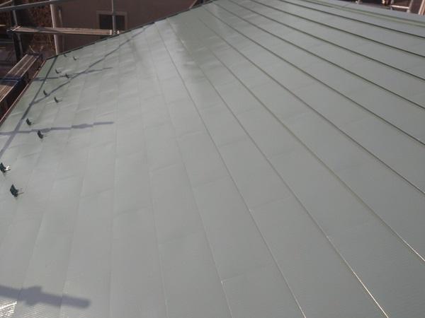 東京都中野区 T様邸 屋根塗装 破風板板金巻き 高圧洗浄 シーリング工事 (16)