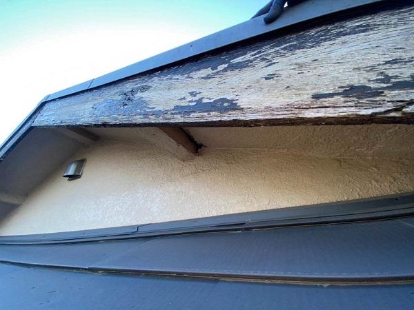 東京都中野区 T様邸 屋根塗装 破風板板金巻き (11)