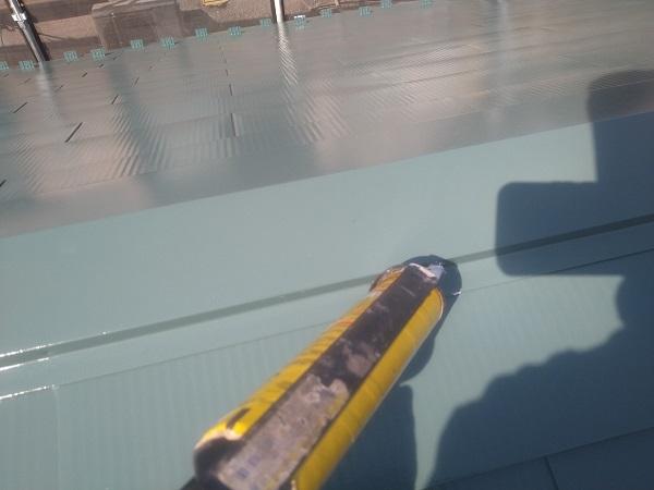 東京都中野区 T様邸 屋根塗装 破風板板金巻き 高圧洗浄 シーリング工事 (21)