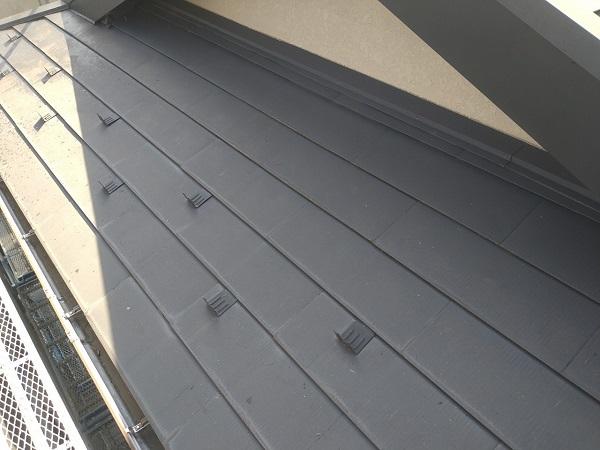 東京都中野区 T様邸 屋根塗装 破風板板金巻き 錆びの恐ろしさ ケレン作業 (1)