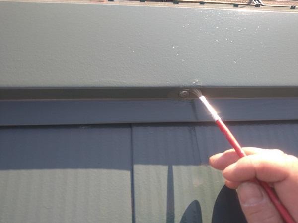 東京都中野区 T様邸 屋根塗装 破風板板金巻き 高圧洗浄 シーリング工事 (26)