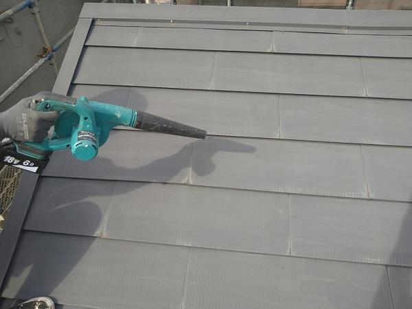 東京都中野区 T様邸 屋根塗装 破風板板金巻き 高圧洗浄 シーリング工事 (1)