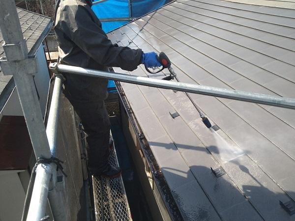 東京都中野区 T様邸 屋根塗装 破風板板金巻き 高圧洗浄 シーリング工事 (18)