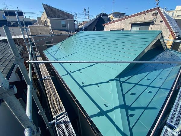 東京都中野区 T様邸 屋根塗装 破風板板金巻き (8)