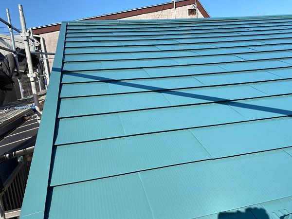 東京都中野区 T様邸 屋根塗装 破風板板金巻き (3)