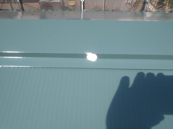 東京都中野区 T様邸 屋根塗装 破風板板金巻き 高圧洗浄 シーリング工事1