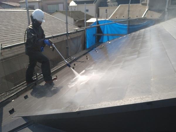 東京都中野区 T様邸 屋根塗装 破風板板金巻き 高圧洗浄 シーリング工事 (17)