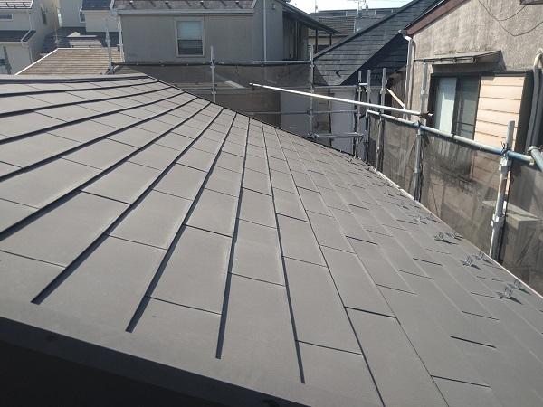 東京都中野区 T様邸 屋根塗装 破風板板金巻き1 (3)