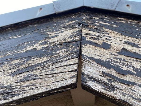 東京都中野区 T様邸 屋根塗装 破風板板金巻き (9)
