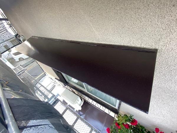 東京都世田谷区 K様邸 屋根塗装・付帯部塗装・劣化補修 霧除け庇塗装 付帯部とは (19)