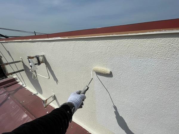 東京都世田谷区 B様邸 屋根塗装・外壁塗装・付帯部塗装・防水工事 日本ペイント ファインパーフェクトトップ (6)