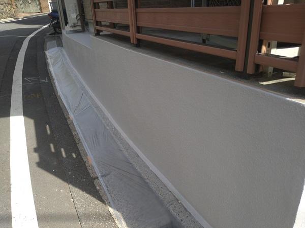 東京都新宿区 M様邸 基礎補修 シーリング工事 基礎塗装 (10)
