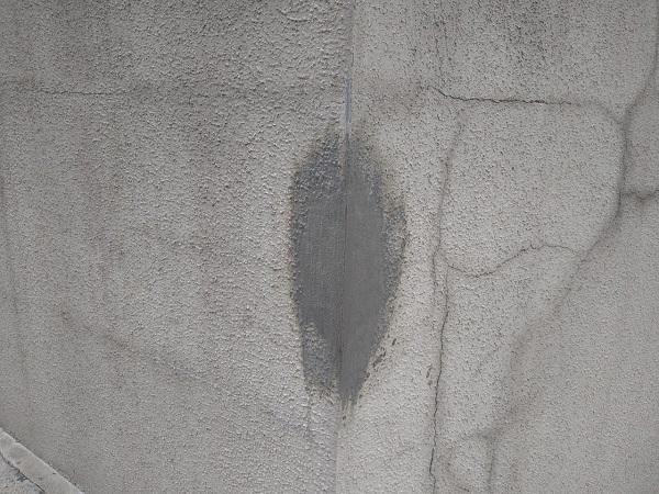 東京都新宿区 M様邸 基礎補修 シーリング工事 高圧洗浄 爆裂の補修 (4)