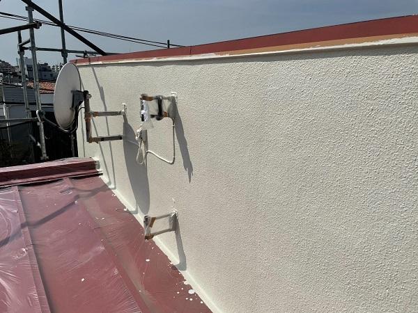 東京都世田谷区 B様邸 屋根塗装・外壁塗装・付帯部塗装・防水工事 日本ペイント ファインパーフェクトトップ (7)