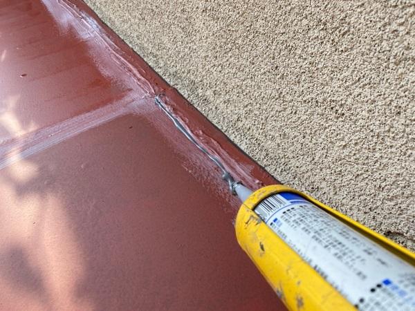 東京都世田谷区 K様邸 屋根塗装・付帯部塗装・劣化補修 霧除け庇塗装 付帯部とは (8)