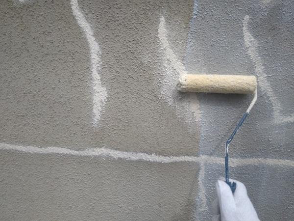東京都新宿区 M様邸 基礎補修 シーリング工事 基礎塗装 (1)