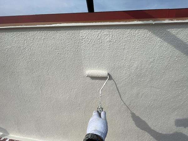 東京都世田谷区 B様邸 屋根塗装・外壁塗装・付帯部塗装・防水工事 日本ペイント ファインパーフェクトトップ (8)