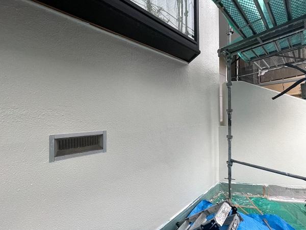 東京都世田谷区 B様邸 屋根塗装・外壁塗装・付帯部塗装・防水工事 日本ペイント ファインパーフェクトトップ (2)