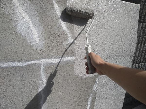 東京都新宿区 M様邸 基礎補修 シーリング工事 基礎塗装 (12)