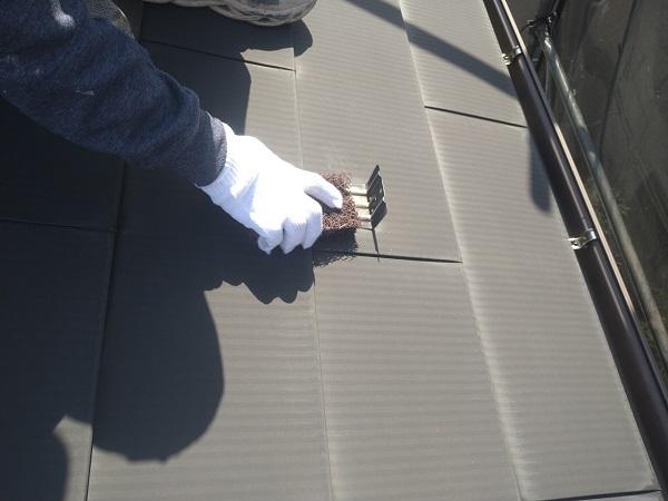 東京都世田谷区 K様邸 屋根塗装・付帯部塗装・劣化補修 屋根ケレン作業 雪止めとは (3)