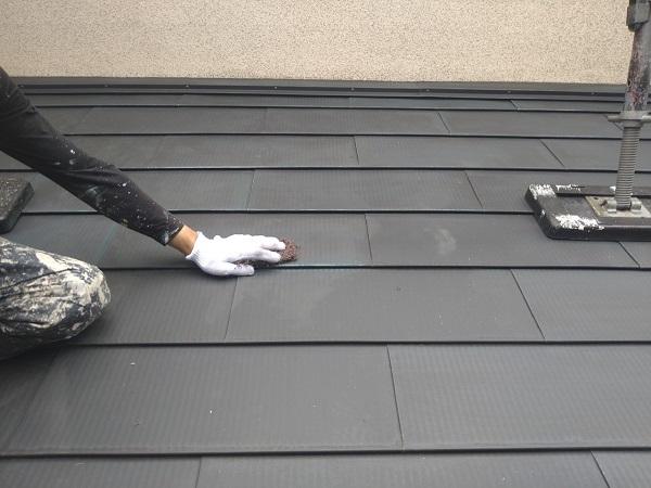 東京都世田谷区 K様邸 屋根塗装・付帯部塗装・劣化補修 屋根ケレン作業 雪止めとは (5)