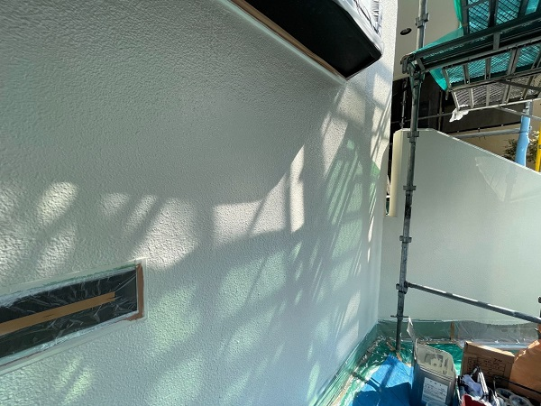 東京都世田谷区 B様邸 屋根塗装・外壁塗装・付帯部塗装・防水工事 日本ペイント ファインパーフェクトトップ (5)