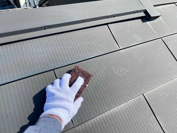 東京都世田谷区 K様邸 屋根塗装・付帯部塗装・劣化補修 屋根ケレン作業 雪止めとは (7)