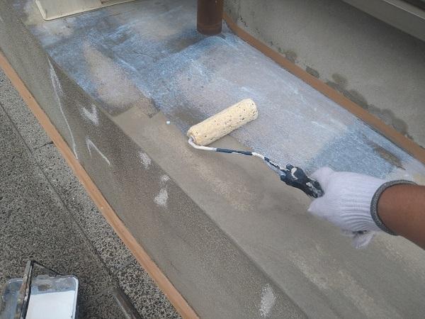 東京都新宿区 M様邸 基礎補修 シーリング工事 基礎塗装 (11)