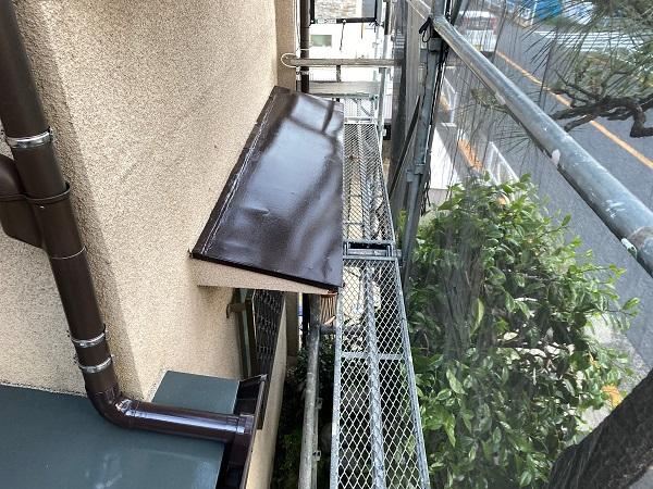 東京都世田谷区 K様邸 屋根塗装・付帯部塗装・劣化補修 霧除け庇塗装 付帯部とは (18)