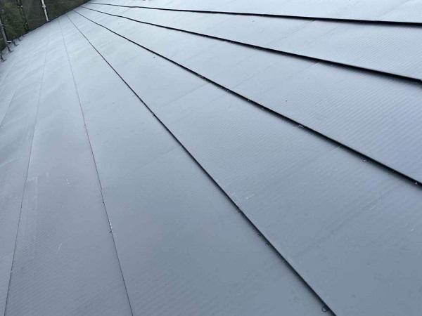 東京都足立区 M様邸 屋根葺き替え工事 田島ルーフィング タディスホワイト ガルバリウム鋼板屋根 (3)