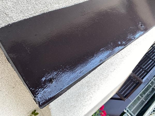 東京都世田谷区 K様邸 屋根塗装・付帯部塗装・劣化補修 霧除け庇塗装 付帯部とは (16)