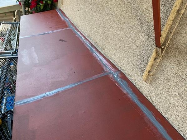 東京都世田谷区 K様邸 屋根塗装・付帯部塗装・劣化補修 霧除け庇塗装 付帯部とは (7)