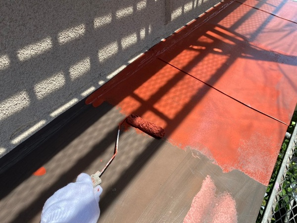 東京都世田谷区 K様邸 屋根塗装・付帯部塗装・劣化補修 霧除け庇塗装 付帯部とは (9)