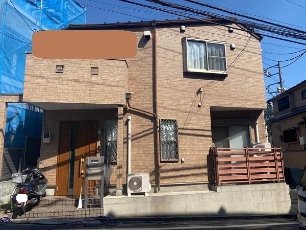 東京都新宿区 M様邸 基礎補修 シーリング工事 施工前の状態 無料現場調査 (3)
