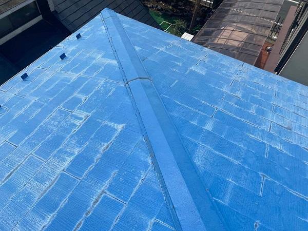 東京都世田谷区 T2様邸 屋根塗装・外壁塗装・防水工事 施工前の状態② 屋根2 (2)