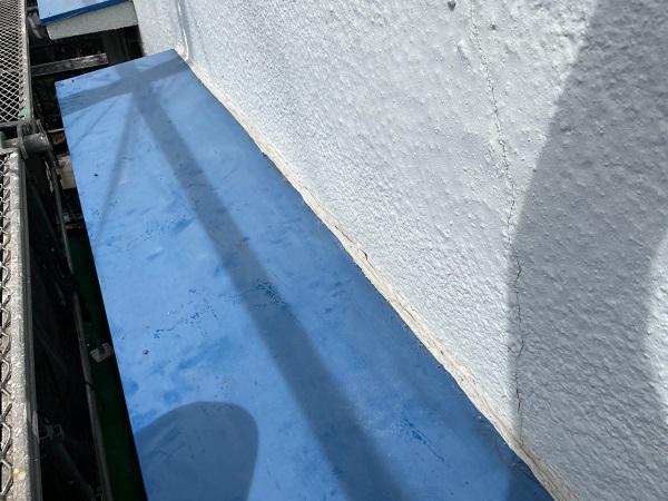 東京都世田谷区 T2様邸 屋根塗装・外壁塗装・防水工事 養生 シーリング工事 (4)