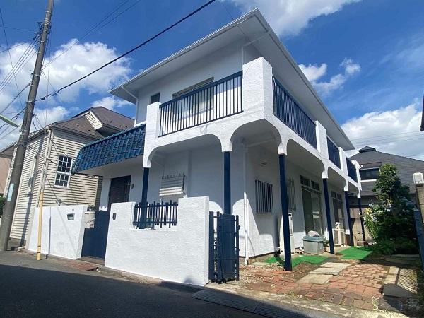 東京都世田谷区 T2様邸 屋根塗装・外壁塗装・防水工事 (3)